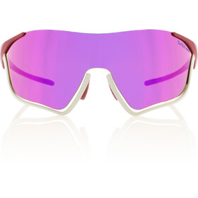 Red Bull SPECT Flow Zonnebril, matt light grey/burgundy/smoke-pink